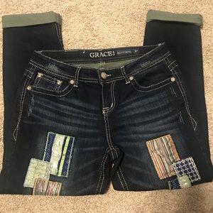 Grace Jeans Boyfriend Size 27